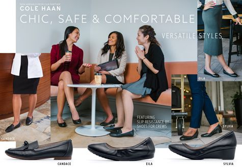 New Women Cole Haan Shoes - chic, safe and comfortable