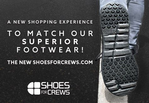 A new shopping experience to match our superior footwear! The new shoesforcrews.com