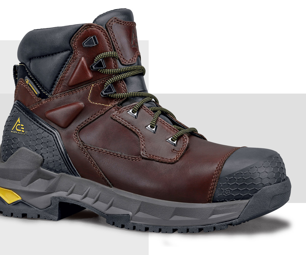 We're serious about safety. We offer a wide selection of composite toe, aluminum toe and steel toe workboots. All Shoes For Crews safety toe footwear meets or exceeds ASTM standards, so you can rely on them for on-the-job protection. You'll find an ASTM certification label on every safety toe style.