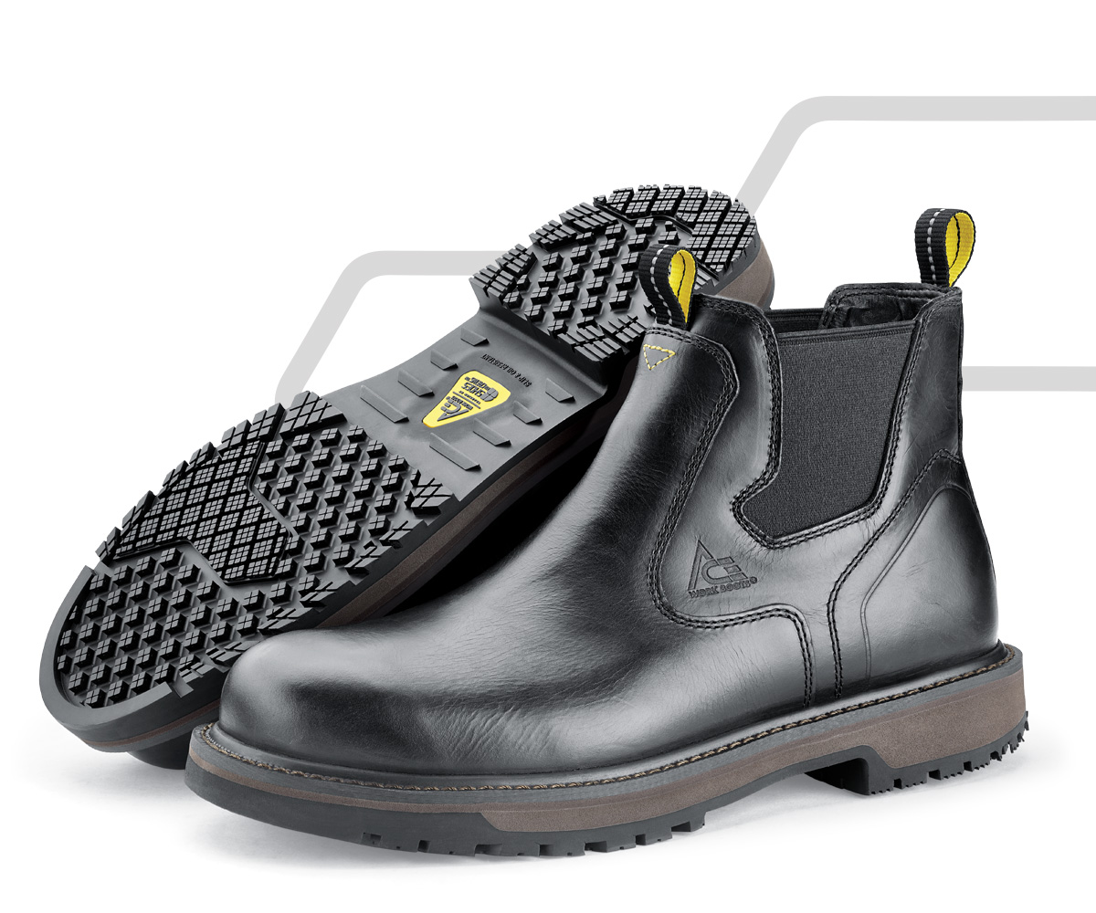 Our proprietary Shoes For Crews outsoles have been bringing hard working people home safe since 1984. Combined with exclusive ACE technologies, you won't find a footwear brand working harder to keep you safe at work.