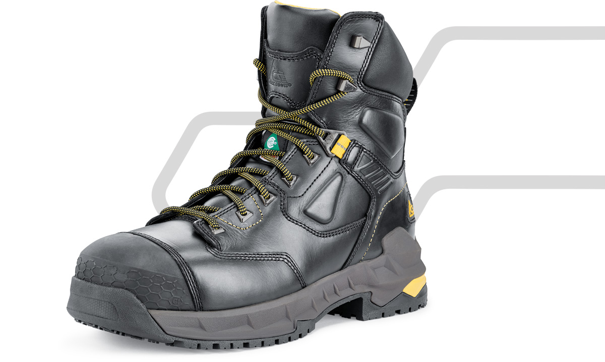If your footwear isn't up to the task, you can't be either. That's why we build our boots and shoes one layer at a time, to provide you with on-duty protection combined with off-duty comfort.  ACE cushioning technology absorbs shock with each step so you don't have to, and provides support at pressure points so you can go all out, all day long. Our ergonomic fit styles offer a roomier toe box to prevent fatigue and encourage natural foot movement.