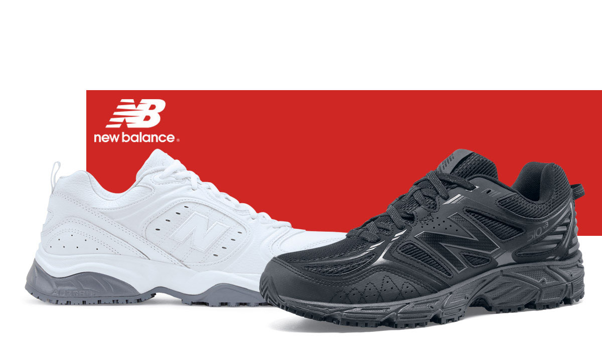 When your shift is a marathon, you need shoes designed to provide the same level of endurance you bring to the job. Enter: the New Balance collection, featuring SureGrip® outsoles. From the experts in athletic footwear, these shoes have the stamina to keep up with you at your peak performance while also keeping you on your feet.