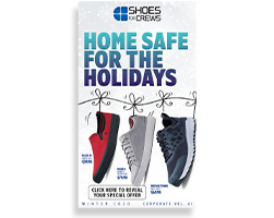 Shoes For Crews Slip-resistant Footwear Catalog Cover