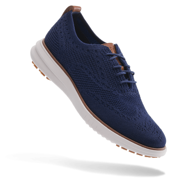 Cole Haan Miles Wingtip Oxford - Blue
