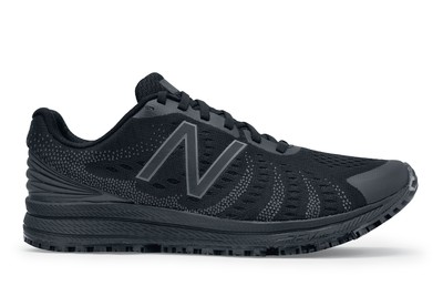 Rush v3 by New Balance: Women's Black Non-Slip Shoes   Shoes For Crews