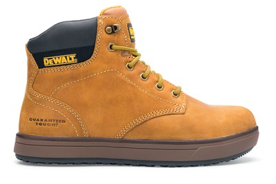 9b57f436a6b Plasma: Wheat Steel Toe Men's Non-Slip Work Boots | DeWalt | Shoes ...