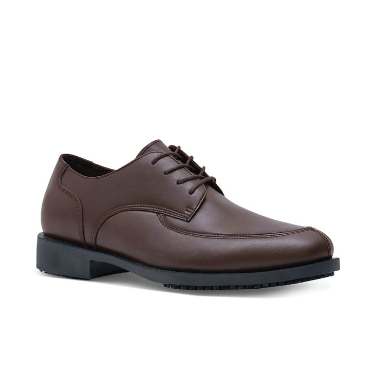 Mens Brown Dress Shoes Men's slip-resistant shoes&gt