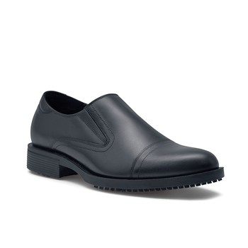 Shoes For Crews - Statesman - Black / Men's Non Slip Dress Shoes