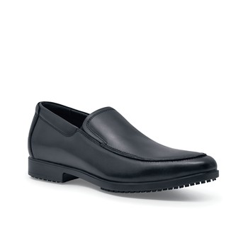 Venice - Black / Men's - Fine Non-Slip Dress Shoe - Shoes For Crews