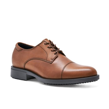 Senator - Brown / Men's - Non-Slip Dress Shoes For Work - Shoes For Crews