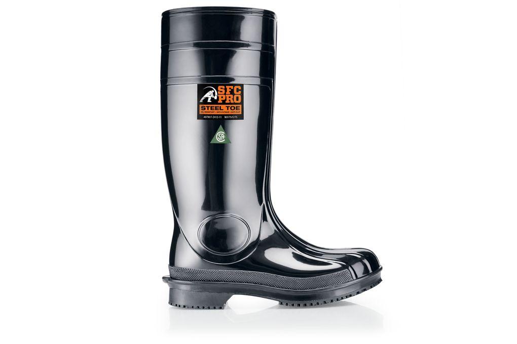 guardian iii black steel toe work boots canada