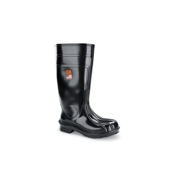 Guardian IV - Soft Toe - 16 Inch Tall Black No Slip Work Boots - Shoes For Crews