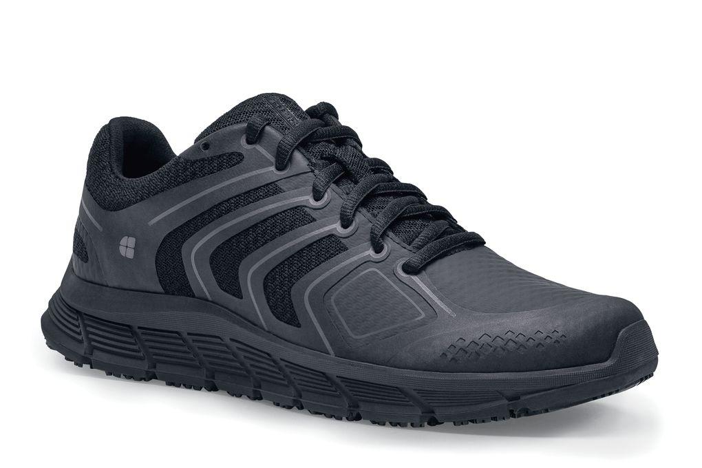 49c35e4f3e11 Course  Women s Black Slip-Resistant Athletic Shoes