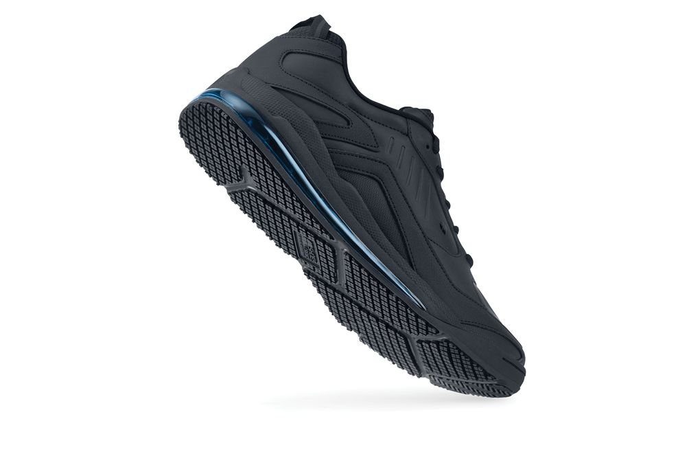 472bfe2ab40e9d Creed  Men s Black Cushioned Athletic Slip-Resistant Shoes