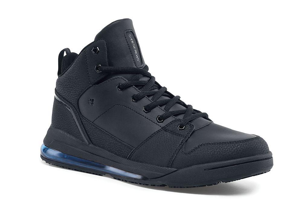 Black High Top Slip Resistant Shoes