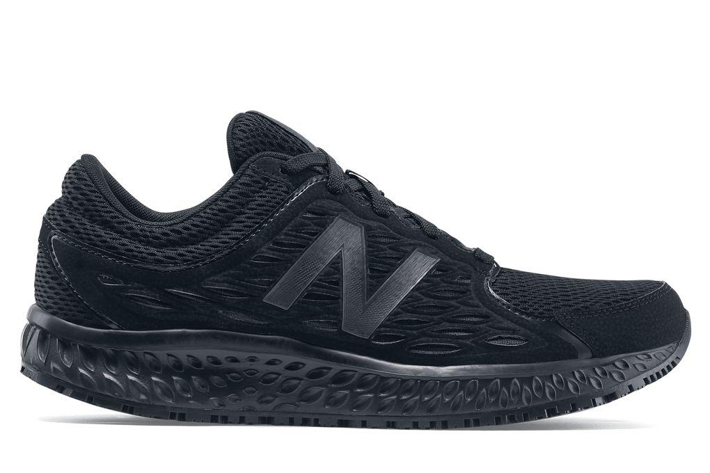 New Balance 420 v3  Women s Slip-Resistant Black Athletic Shoes ... 1db641fb60559