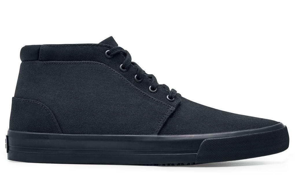 Cabbie II  Men s Black Non-Slip Canvas Work Shoes  01fb5b713
