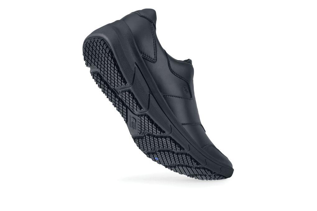 Grayson  Men s Black Leather Slip-Resistant Shoes  8f74a66f9