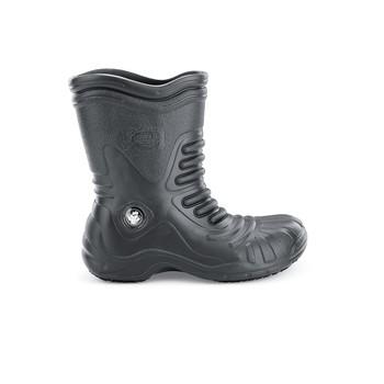 Bullfrog - Soft Toe - Black Waterproof Non Slip Work Boots - Shoes For Crews