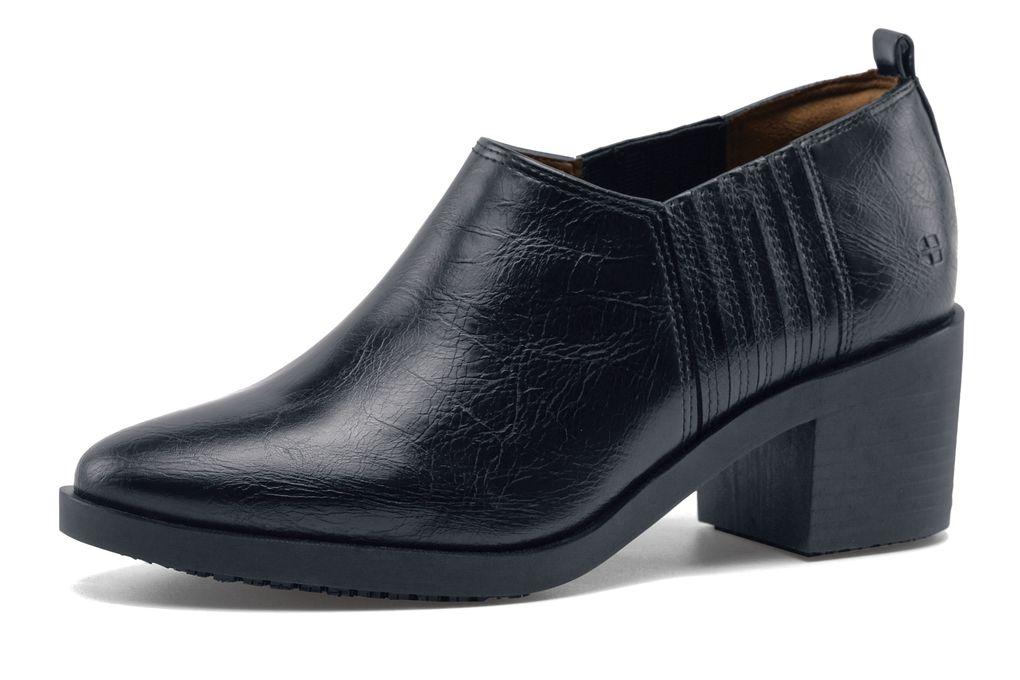 elva black s comfortable non slip dress shoe