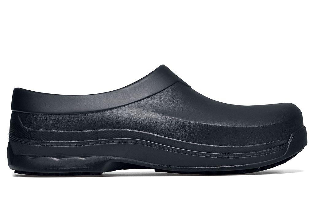 4ec079ef07e3a6 Radium  Black Slip-Resistant Work Clogs