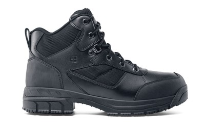 Voyager II - Black - Slip-Resistant Steel Toe Work Boots - Shoes For Crews cf1252b33e45