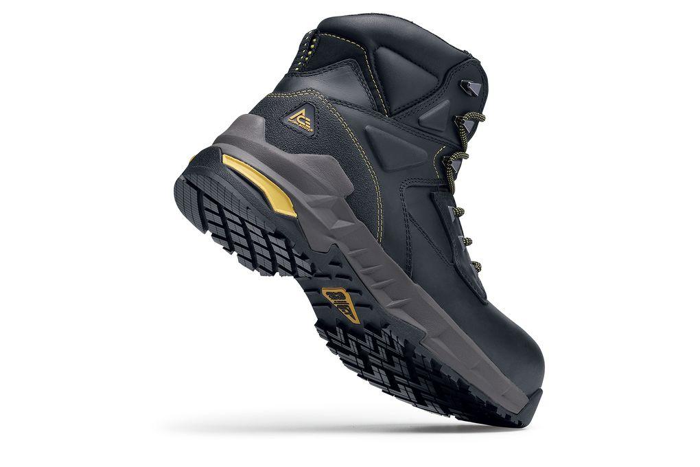 Burren Black Composite Toe   No-Slip Boots  d4d8329ad279