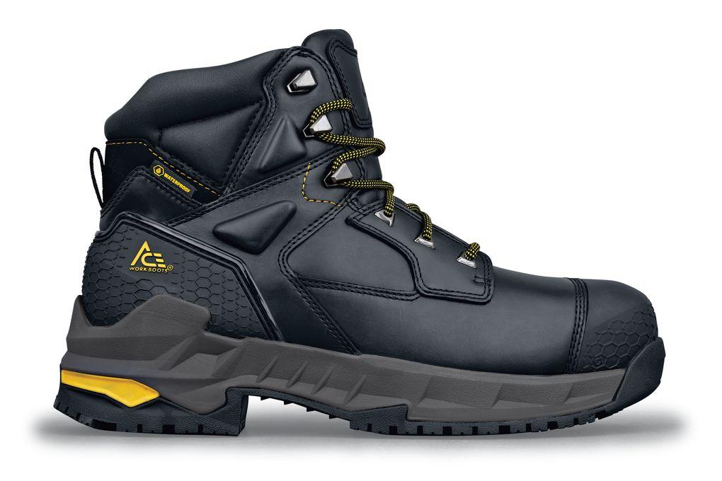 Redrock Black 6 Inch Composite Toe Work Boots  3864f33f278