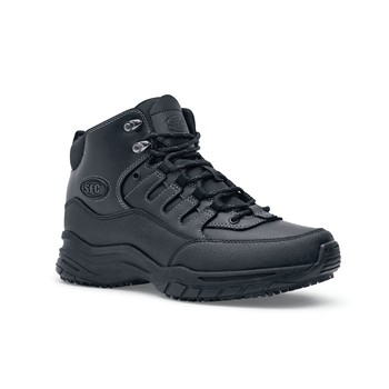 Shoes For Crews - Xtreme Sport Hiker - Soft Toe - Black Skid Resistant Work Boots