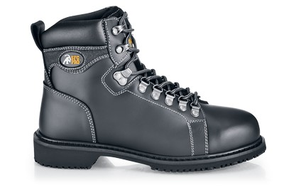 Voyager - Steel Toe - Black - Non Slip Steel Toe Work Boots ...