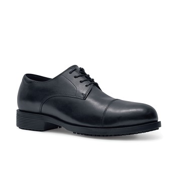 Senator - Black - Steel Toe - Non Slip Men's Dress Shoes - Shoes For Crews