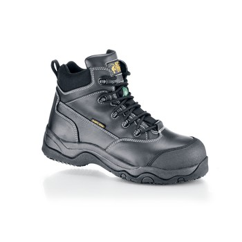 Shoes For Crews - Ranger - Composite Toe (Non-Metallic) - Black Non Slip Safety Toe Boots and Shoes