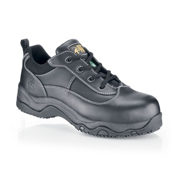 Shoes For Crews - Blackhawk - Composite Toe (Non-Metallic) - Black No Slip Safety Toe Boots and Shoe