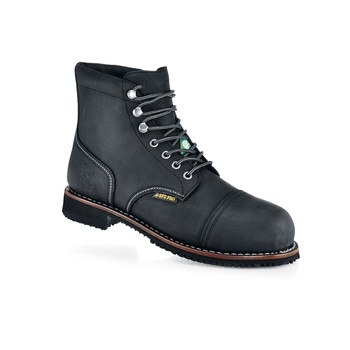 Shoes For Crews - Empire - Composite Toe - Black Slip Proof Safety Toe Boots and Shoes