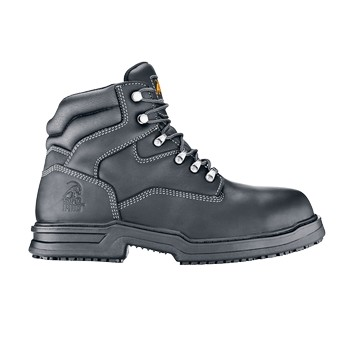 Maverick II - Black - Comfortable Non-Slip Safety Work Boots - Shoes For Crews