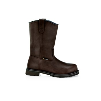 Bronco - Composite Toe - Brown - Traditional Non Slip Work Boots - Shoes For Crews