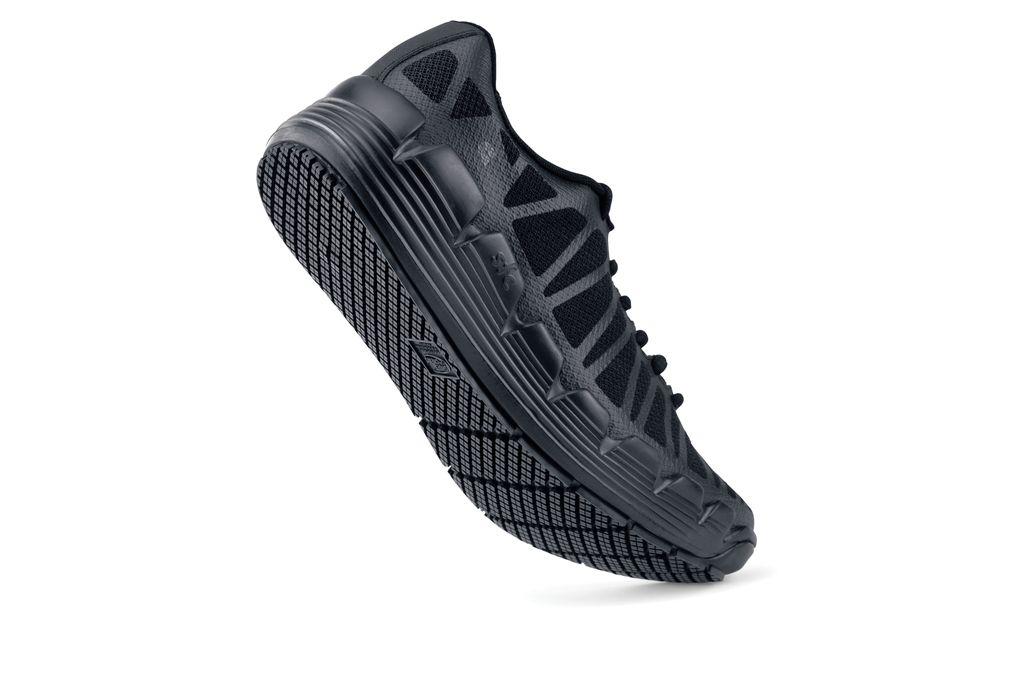 Marathon Black Women S Non Slip Shoe With Maxium Cushioning Shoes For