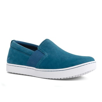 MOZO - Kai - Women's - Teal/White - Non-Slip Restaurant Shoes - Shoes For Crews