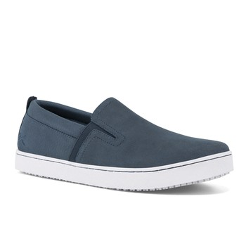 MOZO - Floyd - Men's / Blue - Casual Slip-Resistant Chef Shoes - Shoes For Crews