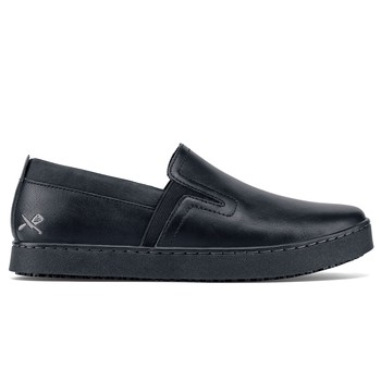 MOZO - Floyd - Men's / Black - Casual Slip-Resistant Chef Shoes - Shoes For Crews