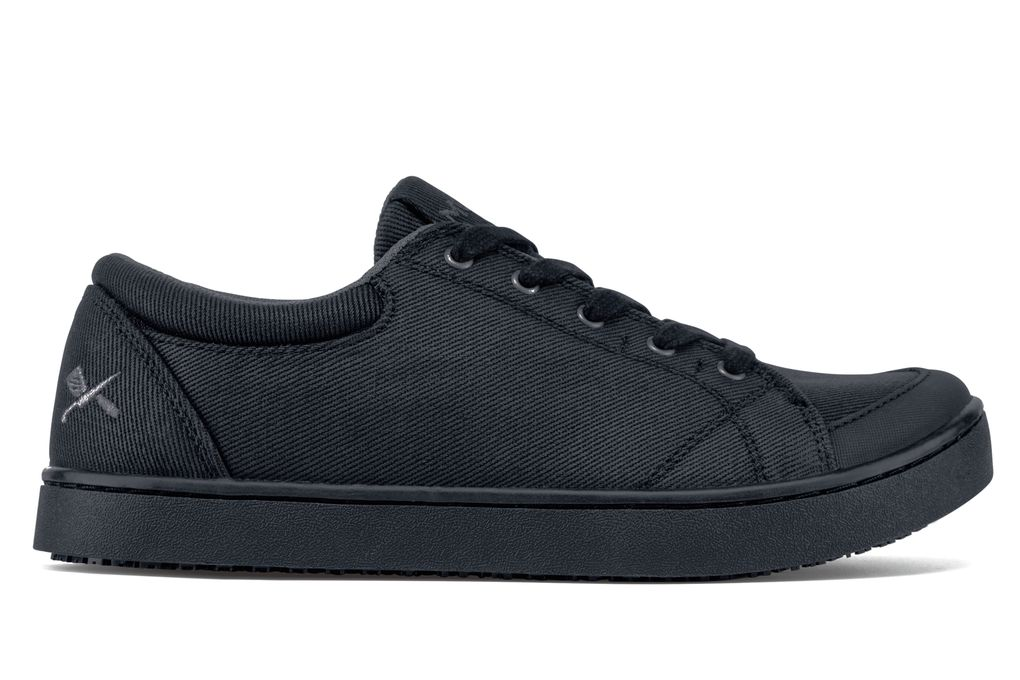 maven black canvas s non slip mozo work shoes