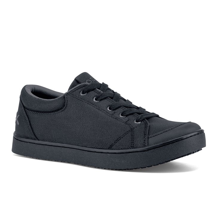 Maven - Black Canvas / Women's - Non-Slip Mozo Work Shoes - Shoes For Crews
