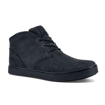 MOZO - Finn Chukka - Men's / Black - Slip-Resistant Chef Shoes - Shoes For Crews