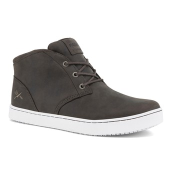 MOZO - Finn Chukka - Men's / Gray - Slip-Resistant Chef Shoes - Shoes For Crews