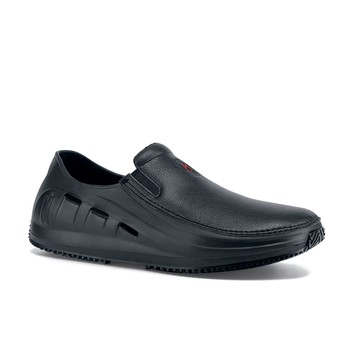 MOZO   Sharkz   Menu0027s / Black   Slip Resistant Chef Shoes   Shoes For