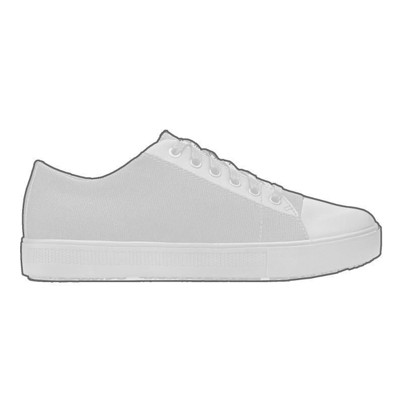 Cabbie II - Gray - Men's Casual Canvas Non-Slip Work Shoe - Shoes For Crews