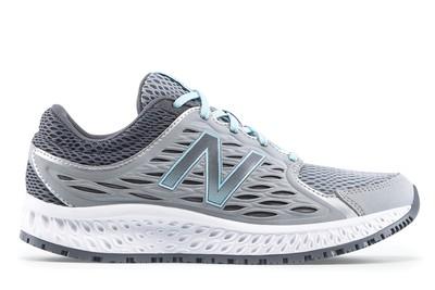 e54e48066611 New Balance 420 v3  Women s Gray   Blue Slip-Resistant Shoes