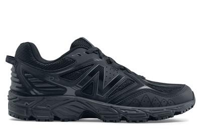 4b7fe4c2c2aff New Balance 510v3: Men's Black Athletic Slip-Resistant Work Shoes | Shoes  For Crews