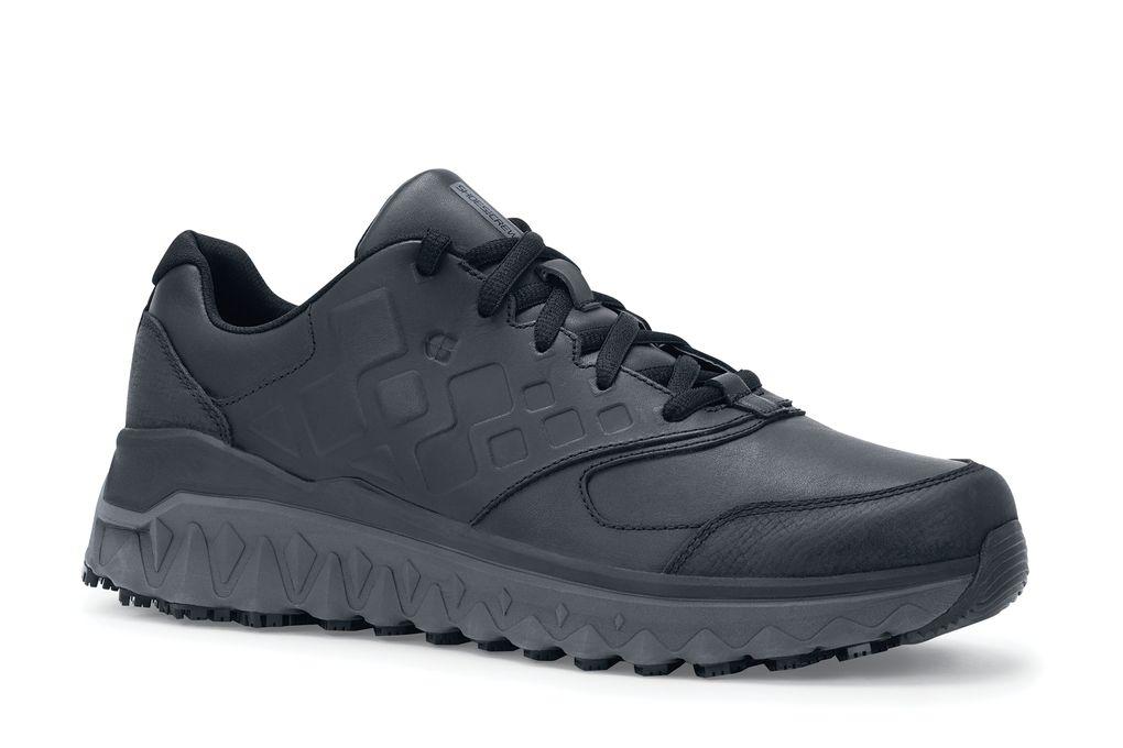 2eedb6e80719 Bridgetown - Black - Men s Leather Athletic Non-Slip Lightweight ...