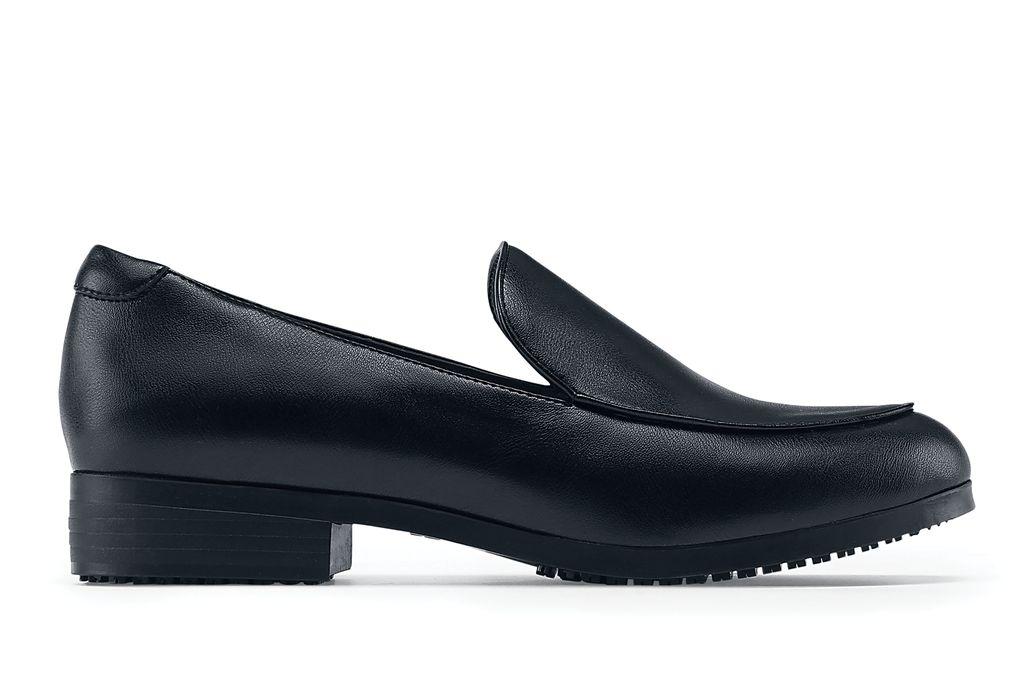 Riley Womens Black Slip Resistant Dress Shoes For Women